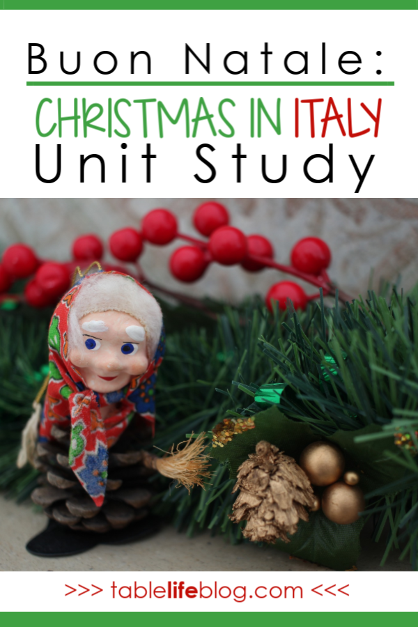 Buon Natale: A Christmas in Italy Unit Study
