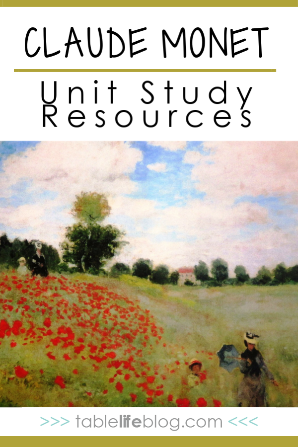 Planning to introduce your kids to master impressionist Claude Monet? We've got some wonderful Monet unit study resources to help you along.