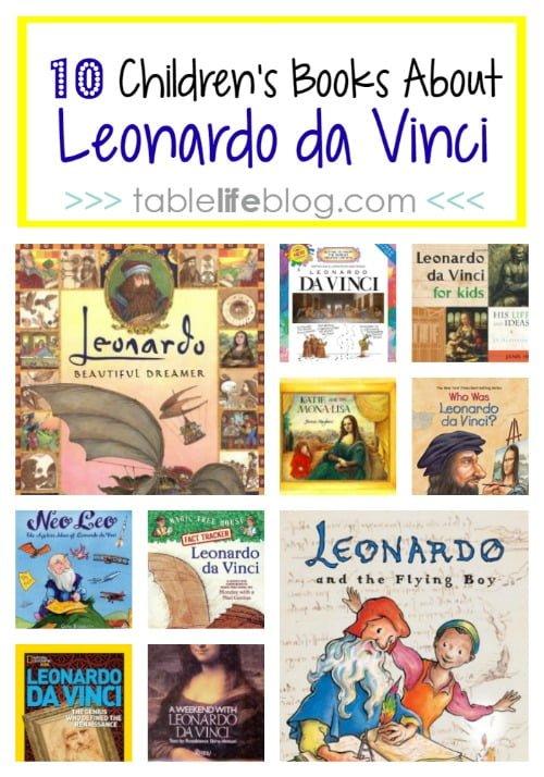 10 Children's Books About Leonardo da Vinci