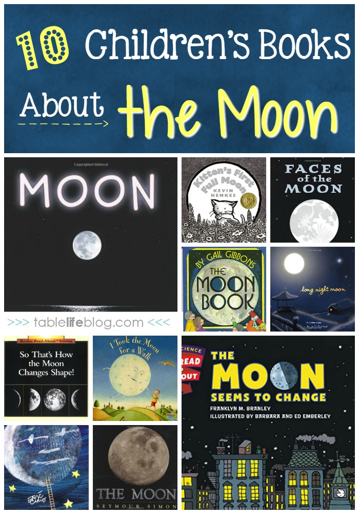 10 Children's Books About the Moon