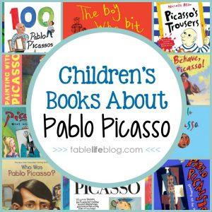 Children's Books About Master Artists - 10 Pablo Picasso Books for Children