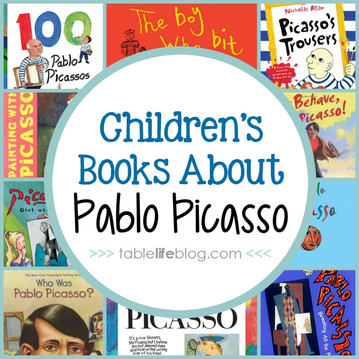 10 Pablo Picasso Books for Children - Meeting the Master Artists: Pablo Picasso Unit Study Resources