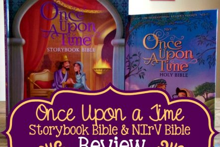 Once Upon a Time Bible and Storybook Review