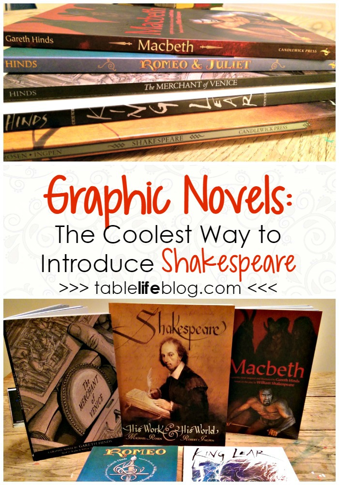 Graphic Novels from Candlewick Press: The Coolest Way to Introduce Shakespeare