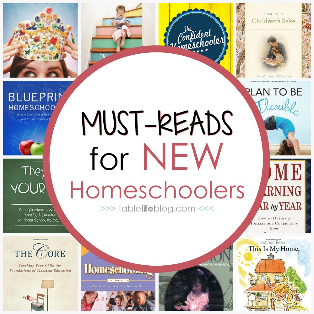 Must Read Homeschool Articles For Encouragement And: 12 Must-Read Books For New Homeschoolers