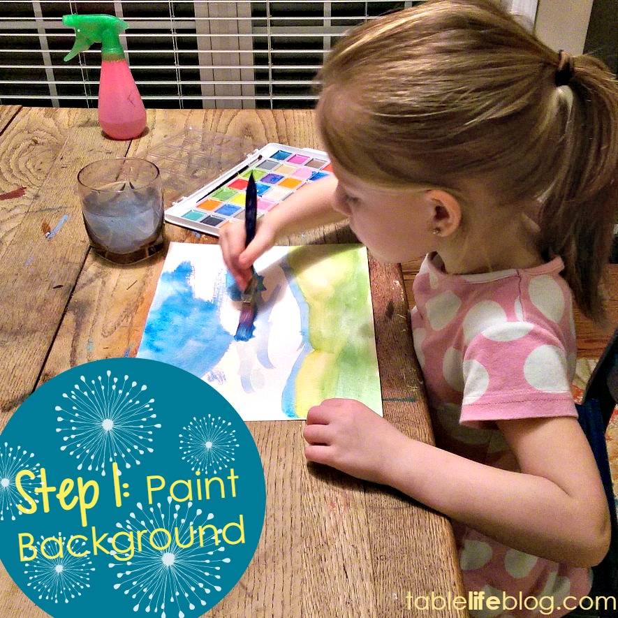 Dandelion Art Tutorial for Kids