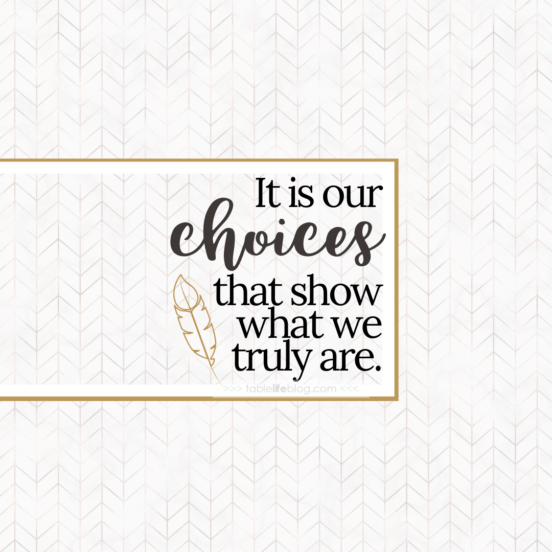"""It is our choices, Harry, that show what we truly are, far more than our abilities."" - 10 Marvelously Magical Harry Potter Quotes (+ Free Printable Decor & Phone Backgrounds)"