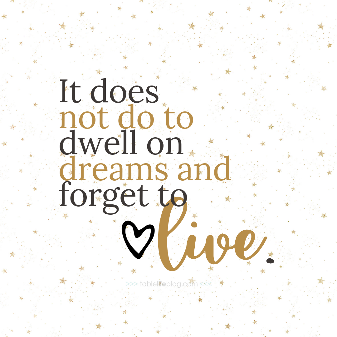 """It does not do to dwell on dreams and forget to live..."" - 10 Marvelously Magical Harry Potter Quotes (+ Free Printable Decor & Phone Backgrounds)"