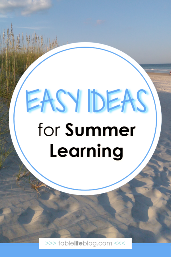 4 Easy Breezy No-prep Required Summer Learning Ideas
