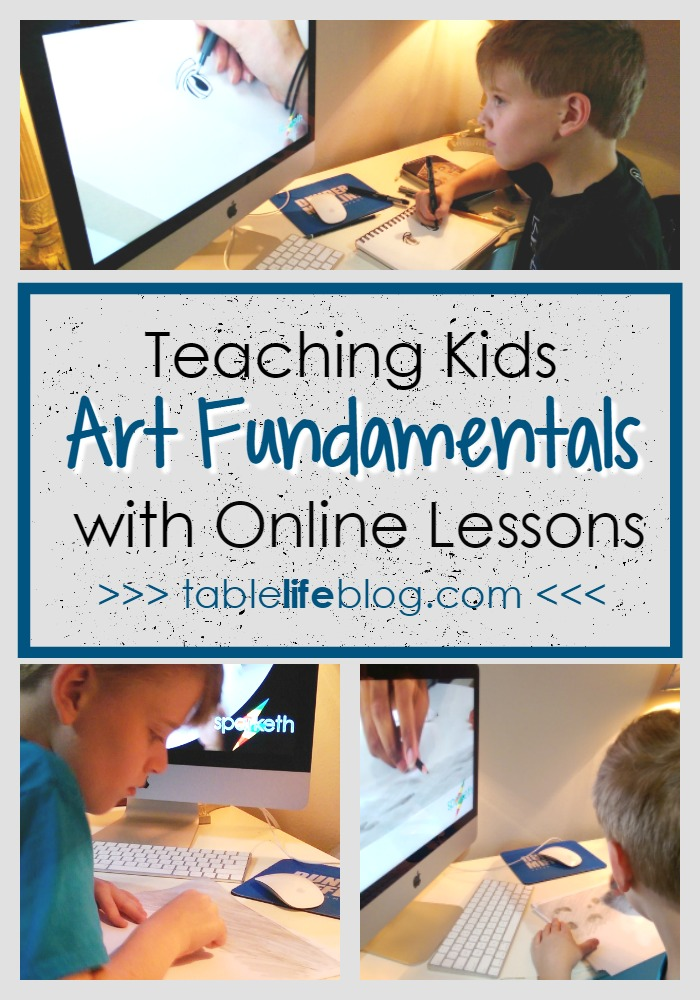 3 Reasons to Use Online Art Lessons to Teach Fundamentals