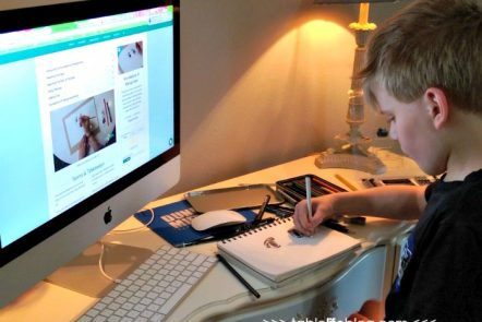 Teaching Kids Art Fundamentals with Online Lessons