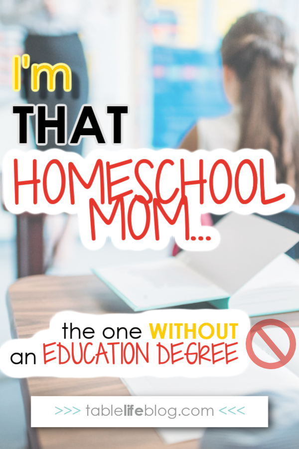 Think you need an education degree to homeschool successfully? Think again.
