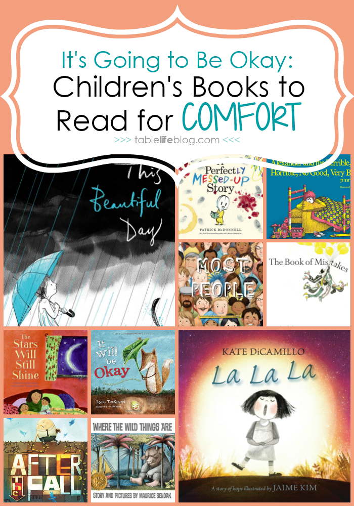 What to Read: Comforting Books for Kids