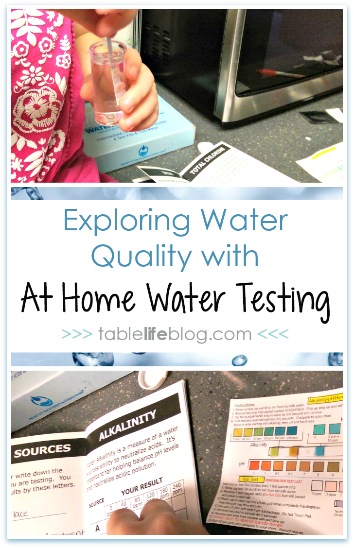 Exploring Water Quality with At Home Water Testing
