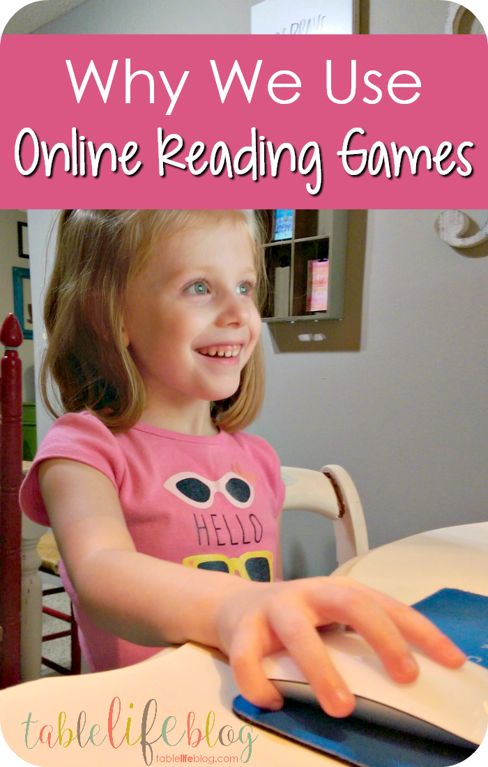 Why We Use Online Reading Games in Our Homeschool