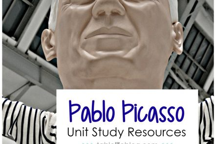 Pablo Picasso Unit Study Resources