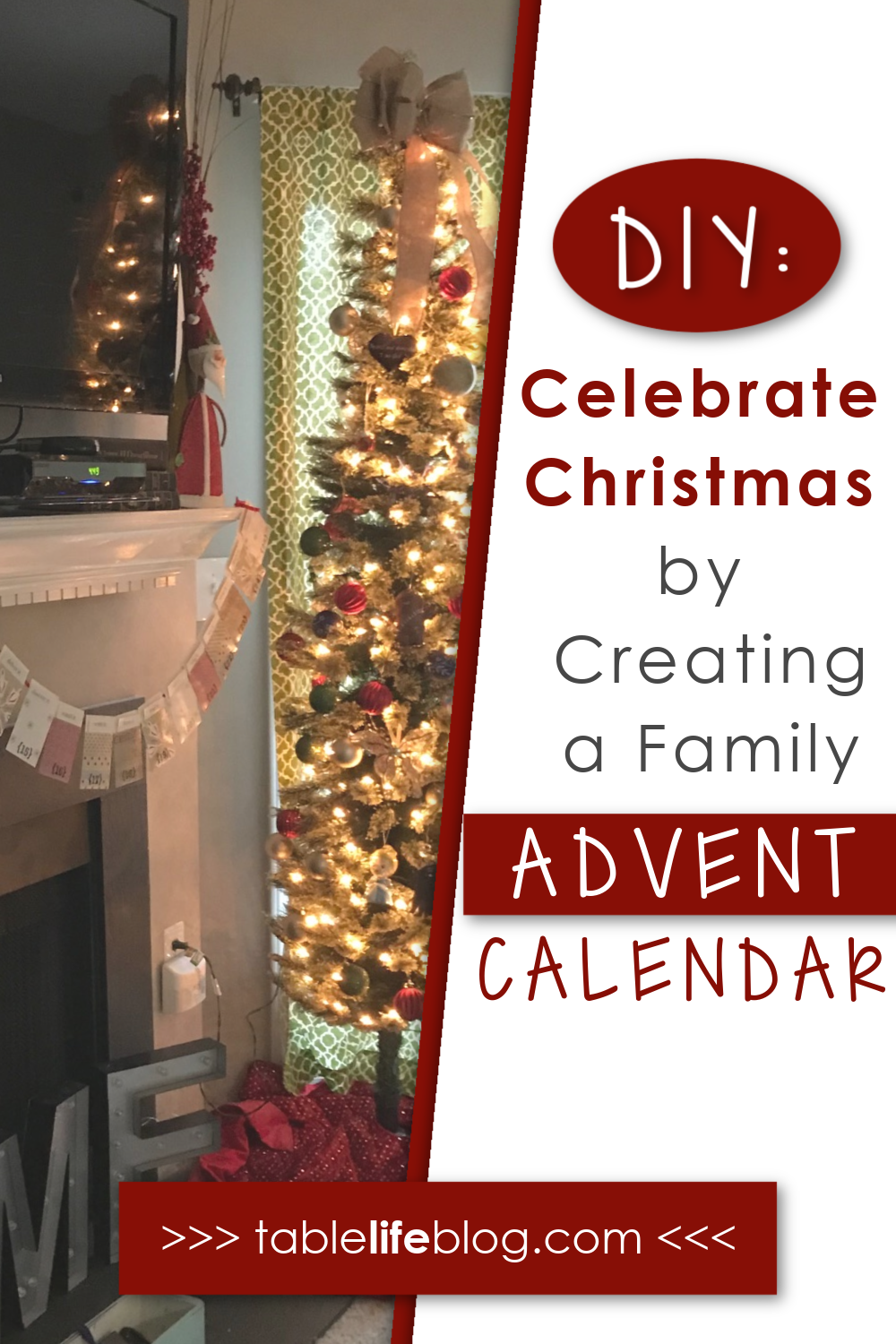 Looking for something special to add to your Christmas season this year? Why not celebrate this special holiday by making your own Advent calendar?