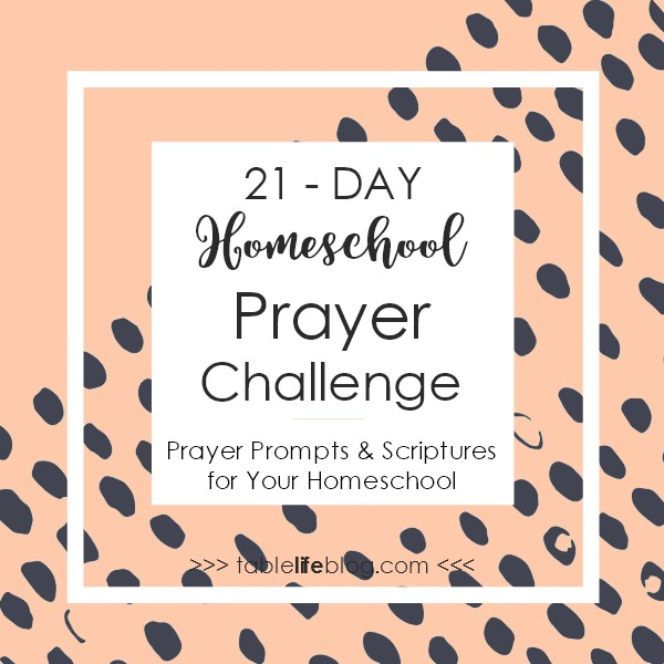 21 Days of Prayer Prompts & Scriptures