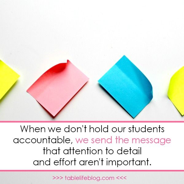 3 Things That Will Make or Break Your Homeschool Middle School Experience - accountability matters!