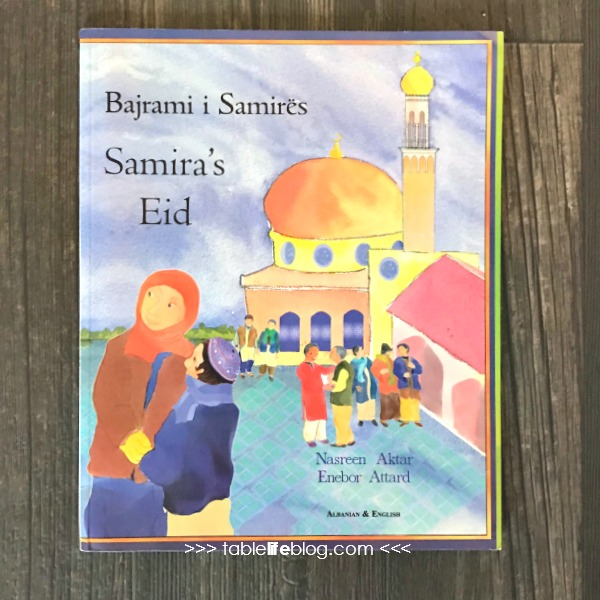 The cover of Samira's Eid by Nasreen Aktar and Enebor Attard