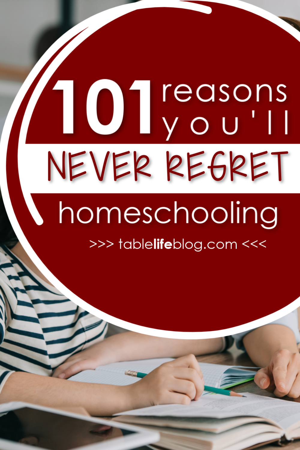 Homeschool life isn't easy and it definitely goes against the societal norm. Even so, there are lots of reasons you'll never regret homeschooling, even if everyone says you're crazy for doing it.