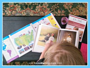 My kids love using picture books like Grandfather's Journey and atlases to learn more about other cultures from around the world.
