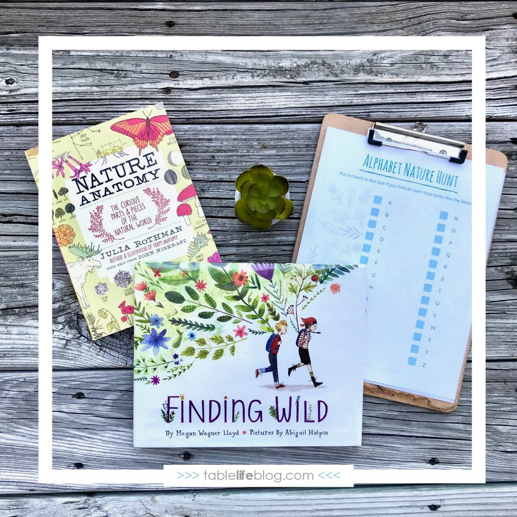 Imagination on the Loose: Alphabet Scavenger Hunt & Nature Walk