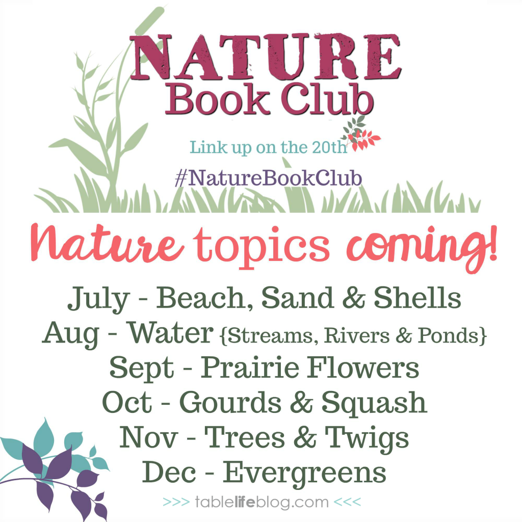 Alphabet Scavenger Hunt Printable - Nature Book Club 2018 Topic Lineup