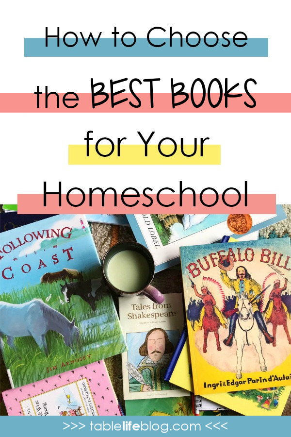 How to Choose the Best Books for Your Homeschool
