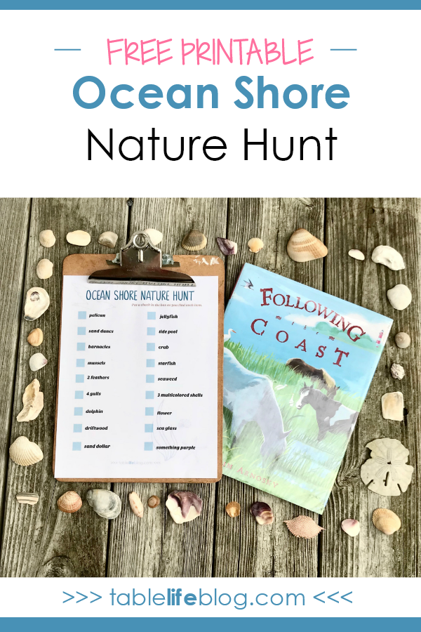 There's More to the Shores: A Nature-Themed Beach Scavenger Hunt