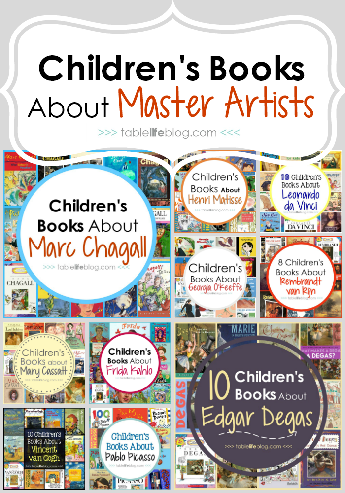 Children's Books About Master Artists