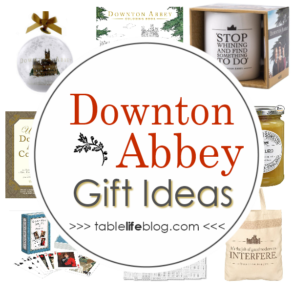 Downton Abbey Gift Ideas: A Gift Guide to Celebrate Upstairs and Downstairs Alike