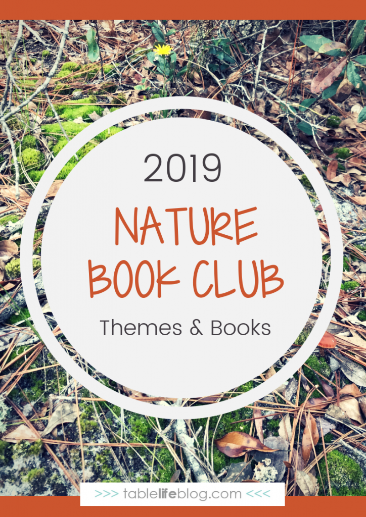 2019 Nature Book Club Themes & Book Selections