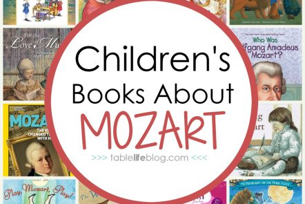 What to Read: Children's Books About Mozart - Studying the life, music, and legacy of Wolfgang Amadeus Mozart in your homeschool? Here's a list of Mozart books for kids to help you learn!