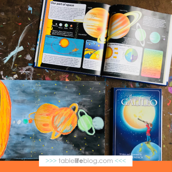 Solar System Art for Kids
