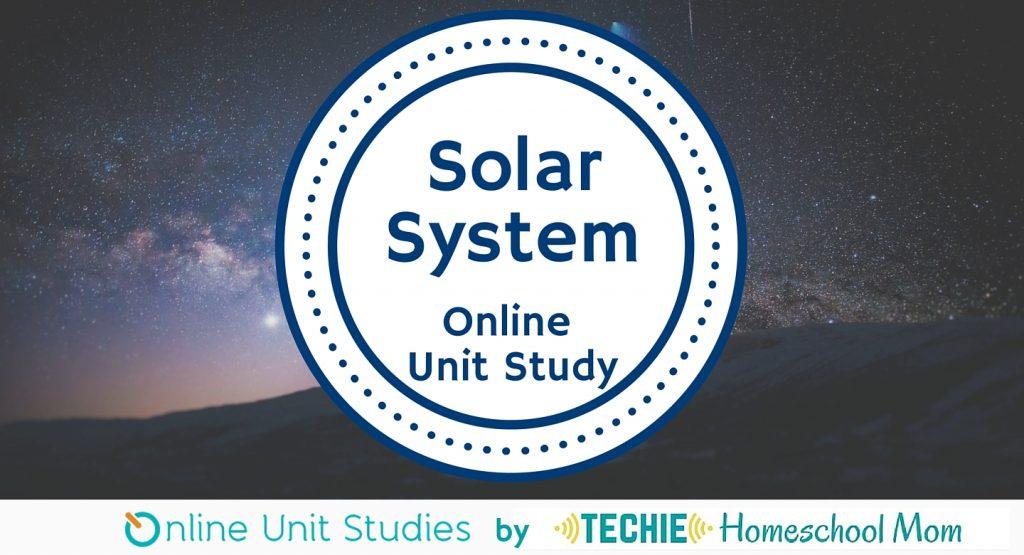 Solar System Art Project ~ solar system online unit study