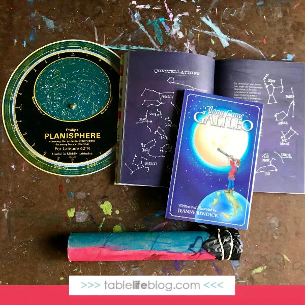 Easy Telescope Craft for Kids