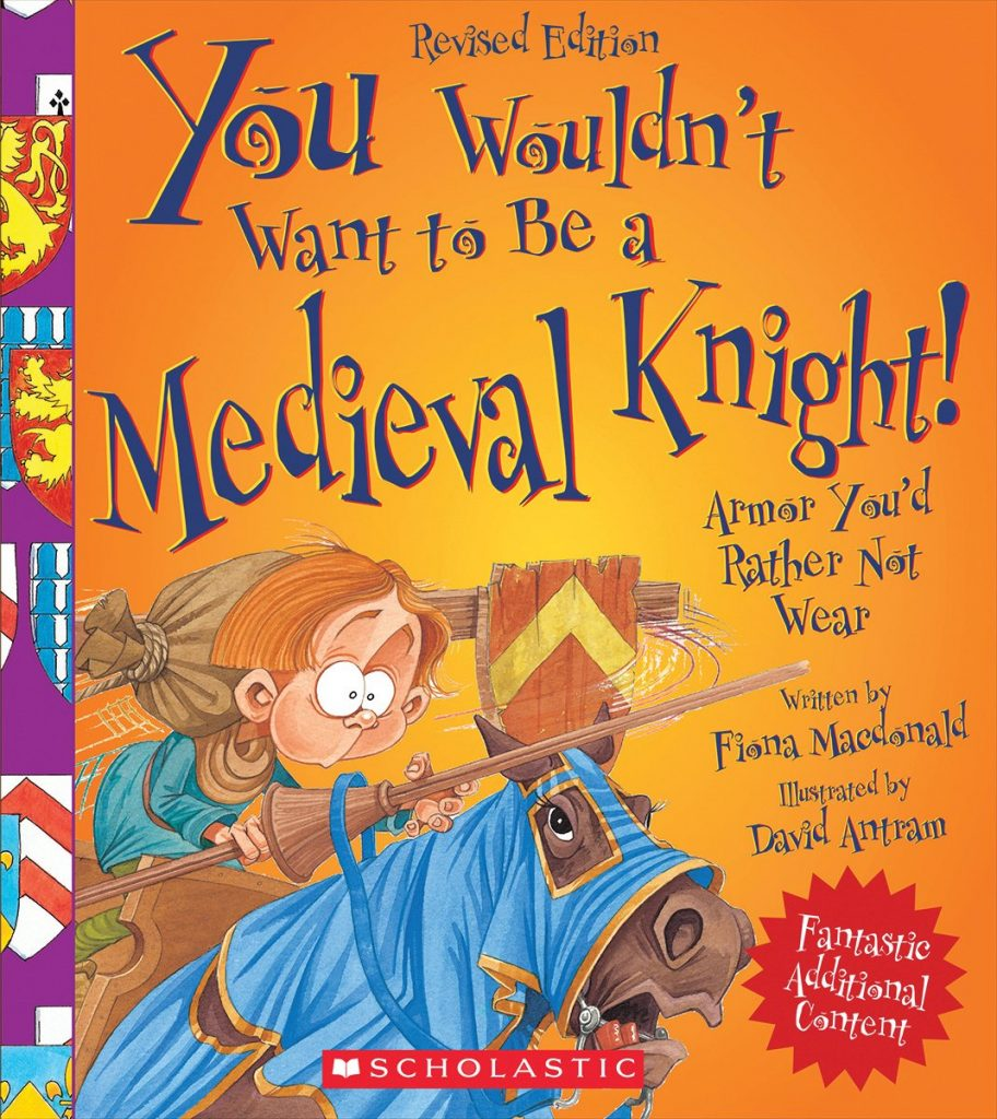 History Books for Kids ~ You Wouldn't Want to Be series