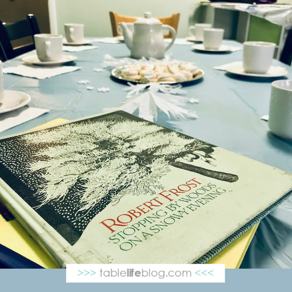 A Year of Poetry Teatime: Homeschool Co-op Poetry teatime Themes