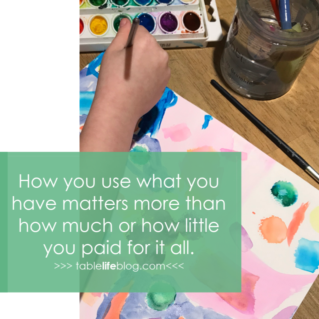 How you use what you have matters more than how much you paid for it all. {The only thing you really need for successful homeschooling}