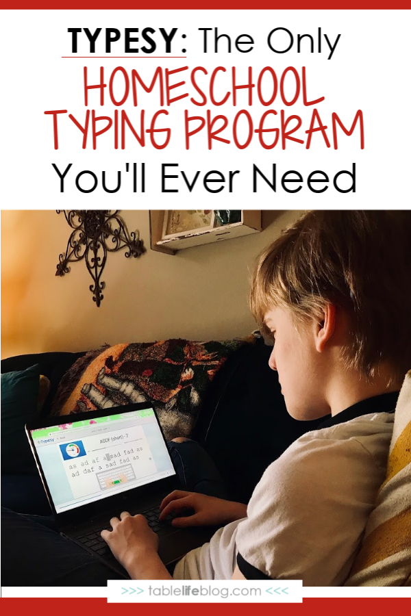Typesy: The Only Homeschool Typing Program You'll Ever Need