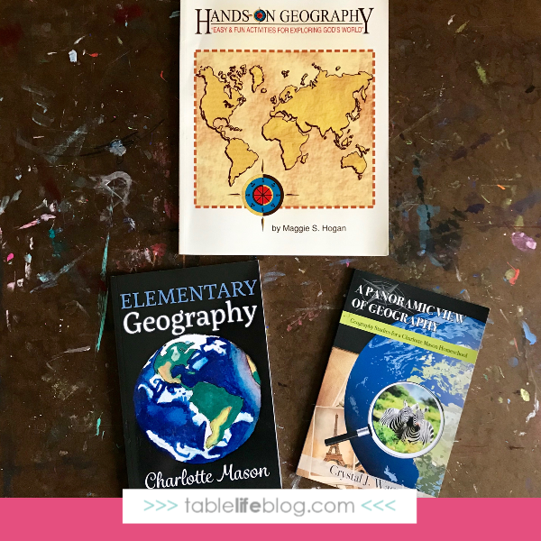 Our Charlotte Mason-Inspired 3rd Grade Homeschool Curriculum Choices - Geography Plans