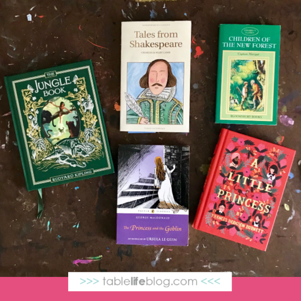 Our Charlotte Mason-Inspired 3rd Grade Homeschool Curriculum Choices - literature selections