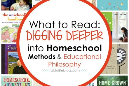 The Best Books to Help Homeschooling Parents Dig Deeper into Homeschool Methods & Educational Philosophy