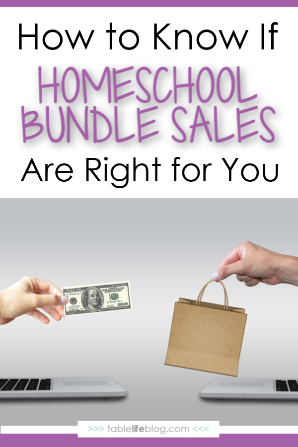 What to Consider Before You Check Out Those Homeschool Bundle Sales