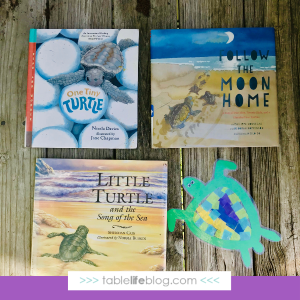 Nature Book Club: Sea Turtle Sun Catcher Craft