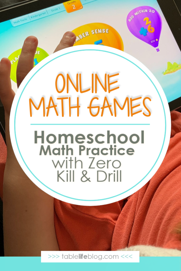 Online Math Games: Homeschool Math Practice With Zero Kill and Drill
