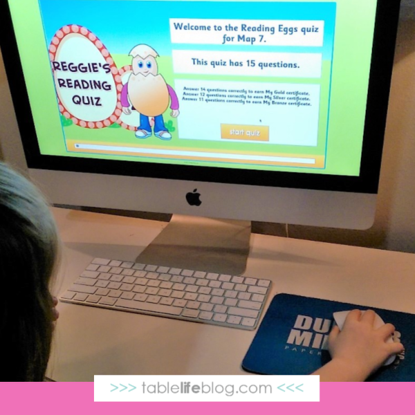 Reading Eggs, one of my 5 favorite preschool curriculum options for homeschooling