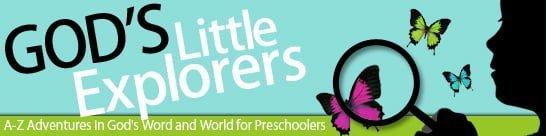 God's Little Explorers - Preschool Curriculum for Homeschool