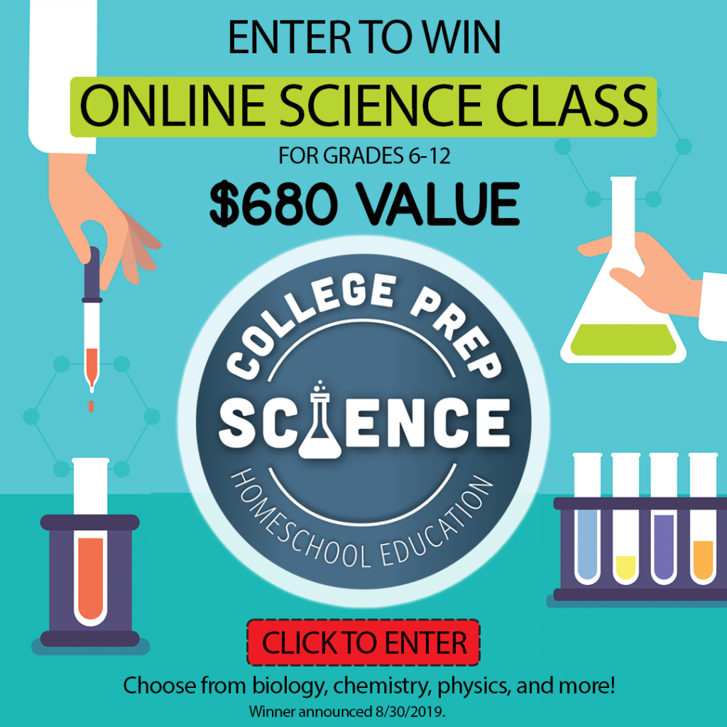 Outsourcing with online homeschool lessons from College Prep Science